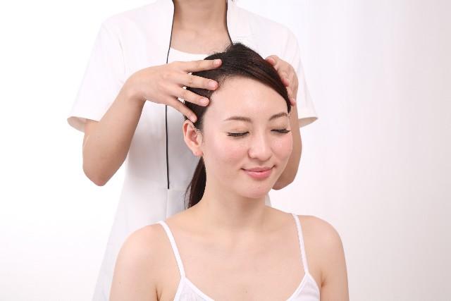 頭皮固い薄毛