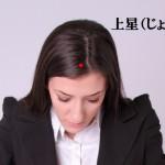 頭のツボ大辞典:「上星(じょうせい)」の位置と効能